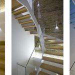 Aubrey walk residential straight staircase M-tech Engineering