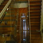 Confetti straight staircase commercial M-tech Engineering