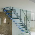 Corn barn residential straight staircase M-tech Engineering