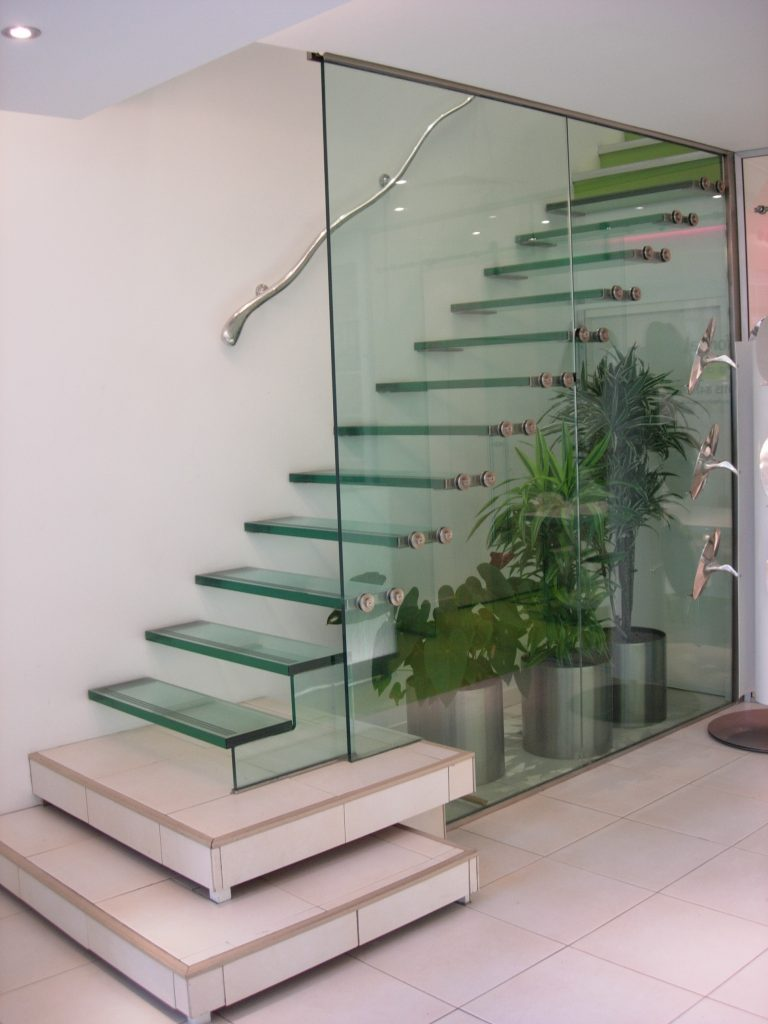 FHP straight staircase commercial M-tech Engineering