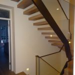 Hamilton terrace residential straight staircase M-tech Engineering