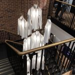 Hawes Curtis straight staircase commercial M-tech Engineering