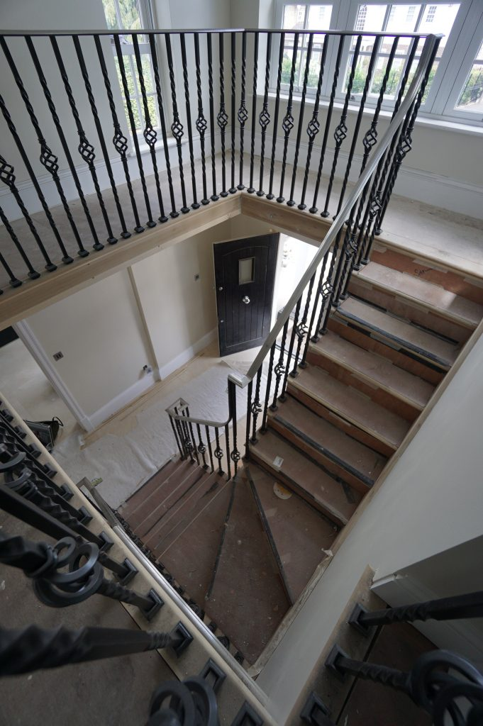 Hornchurch residential straight staircase M-tech Engineering