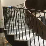 M-tech Engineering Inflexion helical staircase