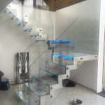 KTA residential straight stairs M-tech Engineering