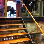 Levis Carnaby street straight staircase commercial M-tech Engineering
