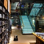 Levis regent street straight staircase commercial M-tech Engineering