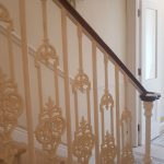 Linden Gardens residential straight stairs M-tech Engineering