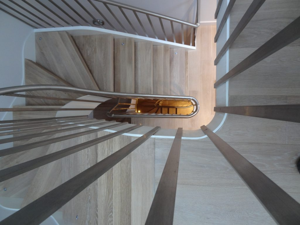 M-tech Engineering Leinster Mews helical staircase