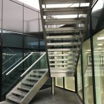M-tech Engineering Nottingham Cannon street helical staircase