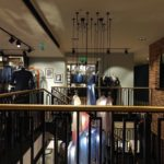 M-tech engineering straight staircase design lit-up hawes curtis london