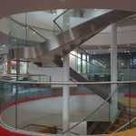 Majestics wines helical staircase M-tech Engineering