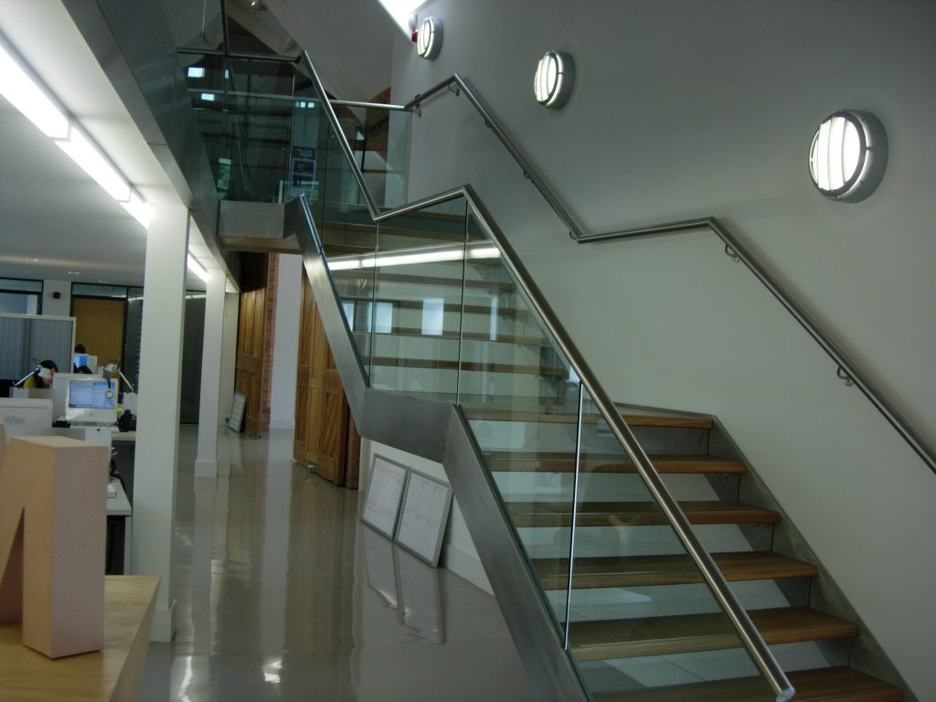 Michon rot straight staircase commercial M-tech Engineering