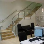 Optical express wc straight staircase commercial London