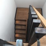 Pavillion road residential straight staircase M-tech Engineering