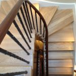 Pembroke gardens residential straight staircase M-tech Engineering