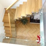 Philip Scotton Wolsley cottage residential straight staircase M-tech Engineering
