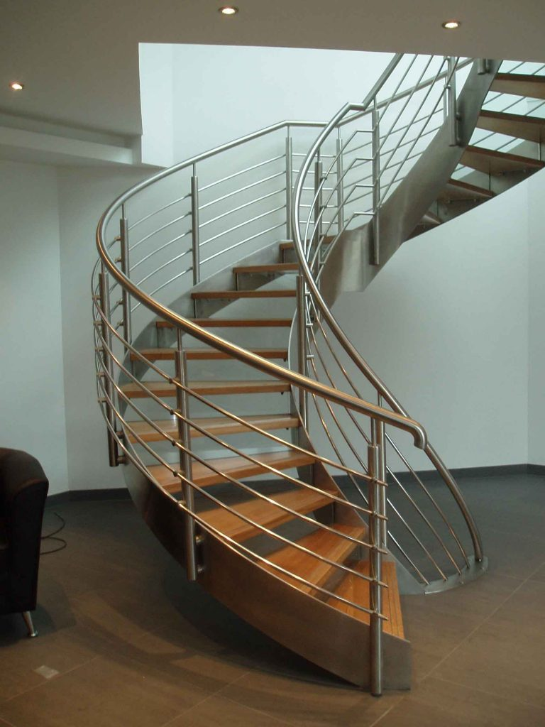 Premier Waste FBI helical staircase M-Tech Engineering