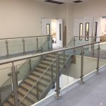 Range Redditch commercial straight staircase M-tech Engineering