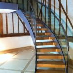 Sacombry barn helical staircase M-tech Engineering Nottingham