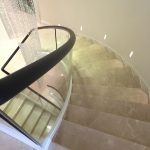 Stepping stones helical staircase M-tech Engineering