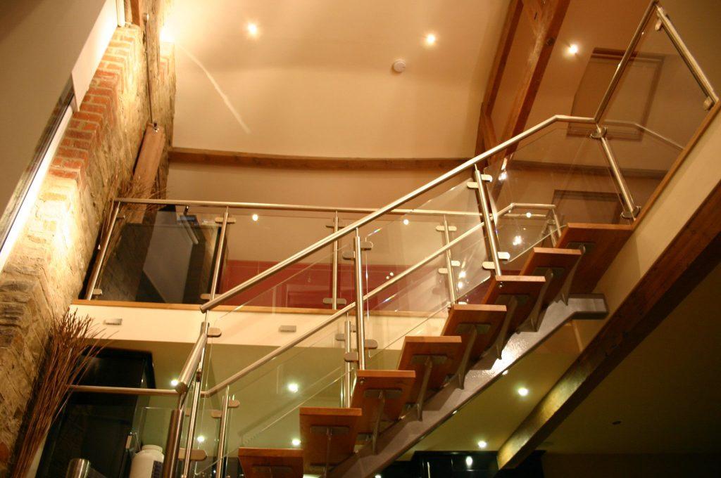 Stewart Walker residential straight staircases M-tech Engineering