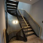 Stratford studios helical staircase M-tech Engineering