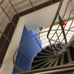 Sykes sons helical staircase M-tech Engineering