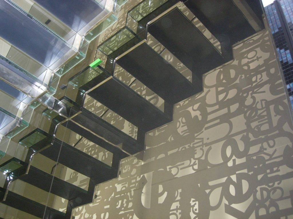 Turdorvale Leonard street residential staircase M-tech Engineering