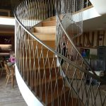 Wisteria barn helical staircase M-tech Engineering Nottingham