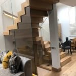 M-tech engineering conduit mews staircase design